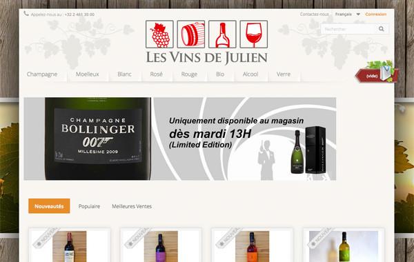 Les vins de Julien